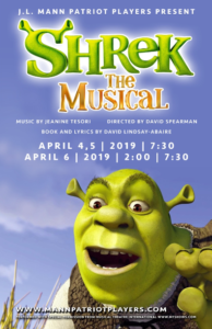 Shrek the Musical JL Mann High School