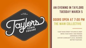 Taylors Town Square - An Evening of History