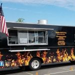Smoke grill and Fry Food Truck