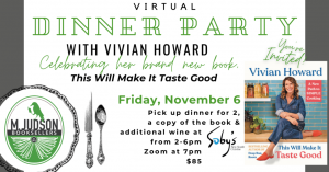 Virtual Dinner Party with Vivian Howard