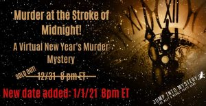 Murder at the Stroke of Midnight